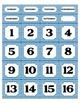 Calendar Set - Rainbow Chevron Theme