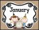 Calendar Set - Rustic Decor