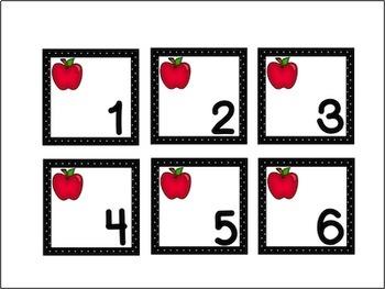 Calendar Set - September - Apples
