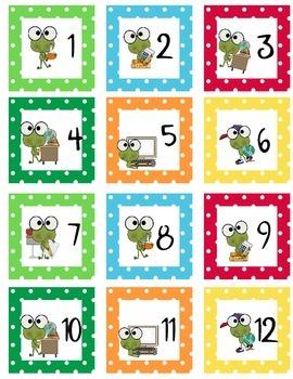 Calendar Set Smart Frog Theme