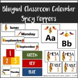Calendar Set Spicy Peppers - English/Spanish