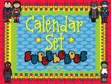 Calendar Set ~ Superheroes