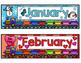 Calendar Set-Train Theme