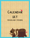 Calendar Set Woodland Friends