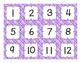 Calendar Set { purple plaid}