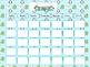 Calendar Set for 12 Months