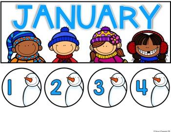 Calendar Set for Any Classroom Decor