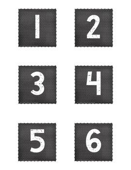 Calendar Set for Pocket Chart - Pirates Decor