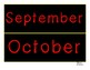 Calendar Set for Students with CVI