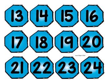 Calendar Shape Patterns