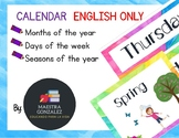 Calendar Signs- Months of the year, Days of the week, Seas