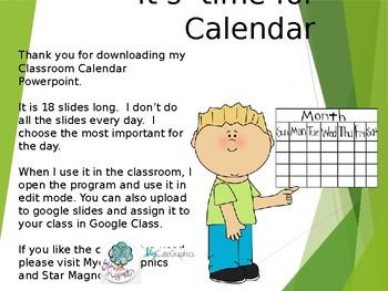 Calendar Silde Show