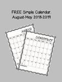 Calendar Simple Free