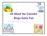 Calendar Skills Bingo Game