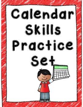 Calendar Skills Practice Set