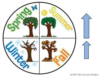 Calendar Spinners - Weather and Seasons