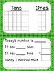 Calendar Squares With Ten Frames That Encourage Math Talk Bundle