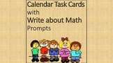 Calendar Task Cards for Math Center