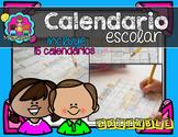 Editable Calendar Set- SPANISH