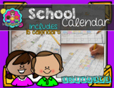 Editable Calendar Set- English