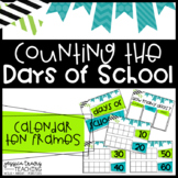 Calendar Ten Frame Posters (Counting the Days of School)