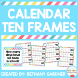 Calendar Ten Frames - UPDATED!