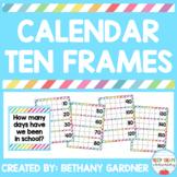 Calendar Ten Frames - UPDATED!