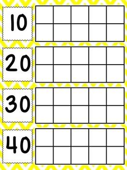 Calendar Ten Frames Pirate