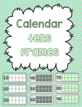 Calendar Tens Frames