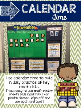 Calendar Time: A Math Review with Number of the Day