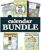 Calendar Time Bundle: Charts, Graphs, Songs, and More!