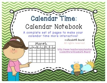 Calendar Time: Calendar Notebook