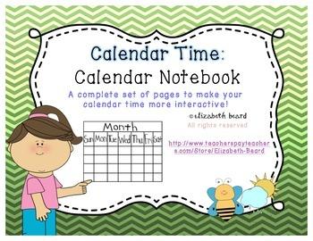 Calendar Time: Calendar Notebook