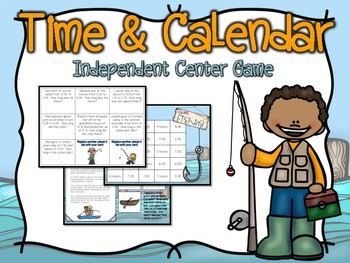Time & Calendar Center Game #3