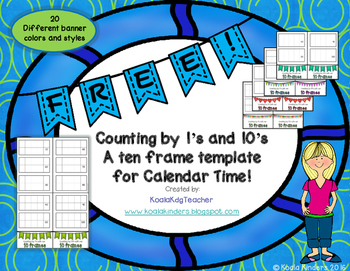 Calendar Time - Counting By 1's and 10's