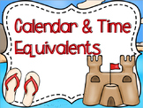 Calendar & Time Equivalents Powerpoint & Guided Notes