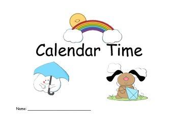 Calendar Time Flipchart and workbook
