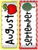 Calendar Time Headers(accessories for your calendar)