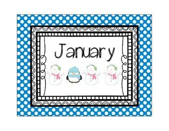 Calendar Time - January
