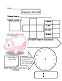 Calendar Time Journal 3- Concept Review