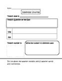 Calendar Time Journal 4- Concept Review