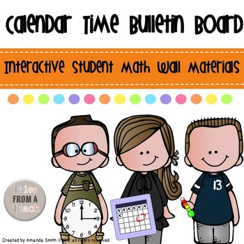 Calendar Time: Daily Math Wall Practice