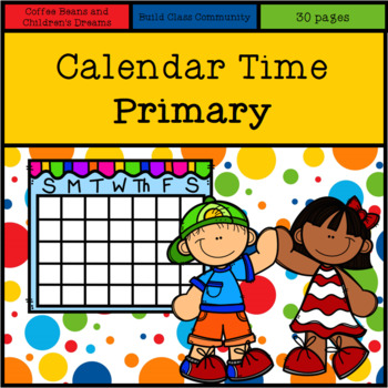 Calendar Time- Primary Colors