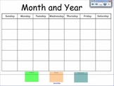 Calendar Time {Smart Board}