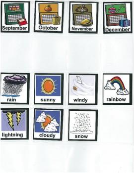 Calendar Time Visuals