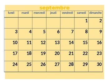 Calendar Tool for Level 1 Assessment