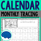 Calendar Tracing January to December 2019