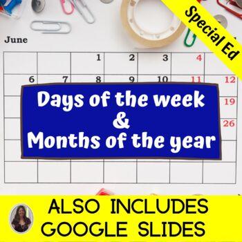 Calendar Unit for Special Education