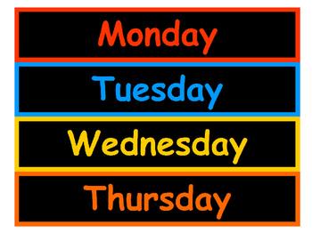 Calendar Visuals