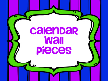 Calendar Wall Pieces